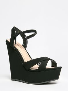 e765f7ef9fd4 Comfort and style is the winning factor to these rockin  wedge platforms  that are