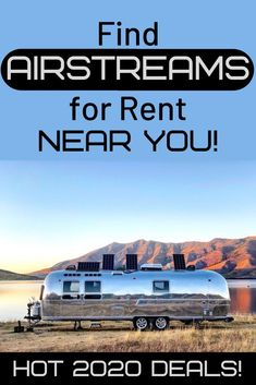 Airstream travel trailers are an American icon and symbolic of vintage campers. With high end renovations, they turn camping into glamping! Check out these tips to renting an Airstream and explore amazing National Parks like Yosemite and Joshua Tree. Airstream Rental, Airstream Travel Trailers, Travel Trailer Camping, Rv Rental, Vintage Airstream, Vintage Campers, Airstream Interior, Outdoor Camping, Camping Outdoors