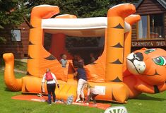 Europe's leading manufacturer of inflatable jumping castles for kids including EU safety certificates for commercial use. Inflatable Slide, Bouncy Castle, Tigger, Commercial, Disney Characters, Kids, Young Children, Boys, Children