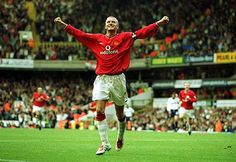 ON THIS DAY in 2001, Man Utd produced a stunning comeback from 3-0 down to win 5-3 at Spurs - with goals from Andy Cole, Laurent Blanc, Ruud van Nistelrooy, Juan Sebastian Veron & David Beckham