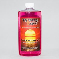 Flamingo Pink Candle Oil by Tropical Lights. $7.95. Tropical Lights Candle Oil ... 99.5 percent pure liquid paraffin .. smokeless and odorless - Flamingo Pink -- 16 oz. Bottle