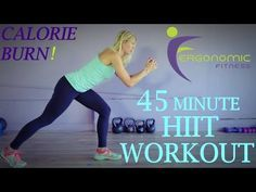 48 Minute Body Weight & Mat Calorie Burning Total Body HIIT Cardio Workout
