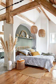 Apartment Bedroom Decor, Home Bedroom, Bali Bedroom, Bedroom Rustic, Master Bedrooms, Bedroom Ideas, Home Interior, Interior Design, Home Remodel Costs