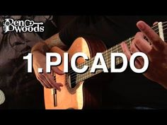 (67) 1.Picado - Ben Woods Flamenco Guitar Techniques - YouTube