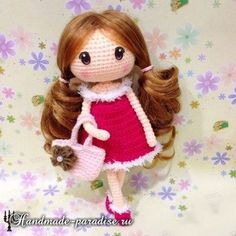 Amigurumi Sweet Doll-Free Pattern - Amigurumi Free Patterns
