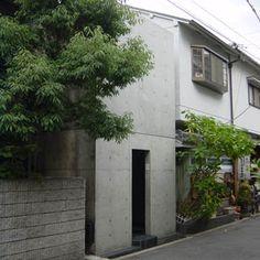 Azuma House - Tadao Ando   住吉の長屋 : 建築に夢をみた