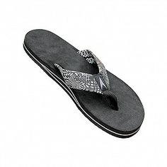 6f9223308b5b Astrodeck Sandals Men s MB3 Cabo Black Art Flip Flops