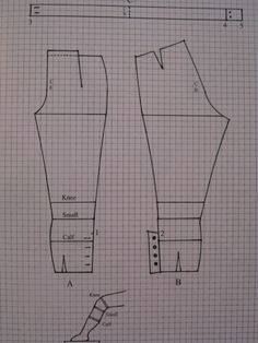 Breeches pattern