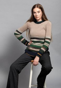 Soho Sweater Knitting pattern by Jo Sharp