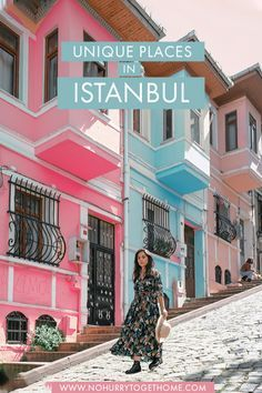 Looking for hidden gems and unique things to do in Istanbul Turkey? On this post I share seven spots activities and neighborhoods to check out in Istanbul that you need to include in your itinerary! Europe Travel Tips, European Travel, Asia Travel, Travel Guides, Travel Destinations, Turkey Destinations, Visit Istanbul, Istanbul Travel, Istanbul Guide