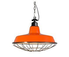Lámpara de techo Strijp - naranja