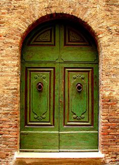 Green Door by Ramona Johnston - Green Door Photograph - Green Door Fine Art Prints and Posters for Sale.
