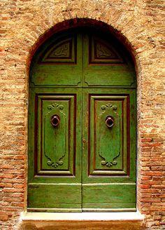 Green Door by Ramona Johnston - Green Door Photograph - Green Door Fine Art Prints and Posters for Sale.