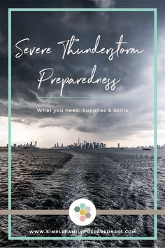 Are you ready for severe weather? In this article, we examine severe thunderstorms and the damage th