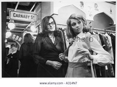 Carnaby Street Boutique Stock Photo