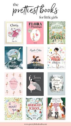 The Prettiest Children's Books for Little Girls - Pretty Little Details