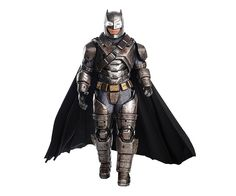 If you want to become a real Halloween legend and win every best costume award there is, use this supreme batman armored suit Bruce wears when he fights superman!