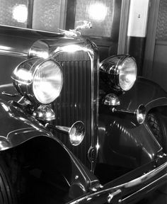 1932 Chrysler Imperial with gazelle hood ornament. Old school cool.