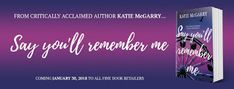 The Reading Faery: Waiting on Wednesday: Say You'll Remember Me by Ka...