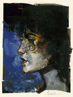 Death, by Dave McKean. Possibly one of the best characters from one of the best series ever: Sandman!
