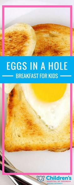 Give your kids a great start! Enjoy this delicious, healthy, not to mention, kid-friendly, breakfast idea.