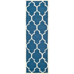 navy blue wool rugs | Joss and Main
