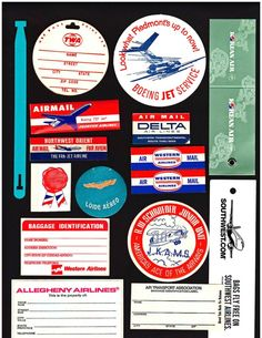 Airlines Tags & Labels