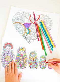 Have some coloring fun with your kids and color side by side for a relaxing art activity! Find @pinprismacolor pencils and markers at @michaelsstores - be sure to check out @michaelsstores coupons for additional savings, in newspapers and online! #relaxandcolor #ColoringwithMichaels #PMedia #ad