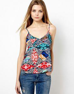Cami in Floral Print at ASOS