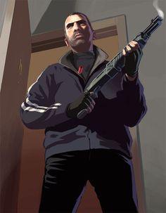 Grand Theft Auto concept   Grand Theft Auto IV Concept Art