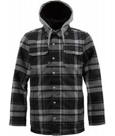 For those of you that like to rock flannel and need a new jacket, check the Hackett. With the look and feel of a lumberjack's work shirt, Burton has picked a few things up along their visits to the Midwest. Constructed with DRYRIDE waterproofing technology and 3M Thinsulate insulation, the Hackett can hack it where and when the traditional flannel simply cannot. And a Team Fit adds a couple extra inches to this jacket's body and sleeve length to provide you with complete freedom while…