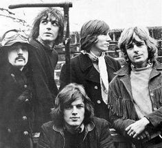 Pink Floyd: Nick Mason - Syd Barret - David Gilmour - Roger Waters - Richard Wright