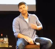 Dare I ask for context??? [GIF] #JIBcon2014 STAAAAAHP IT