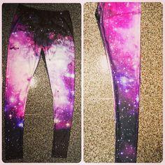 galaxy leggings #Romwe