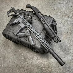 Mossberg Shockwave & AR-15 & CZ Shadow 2