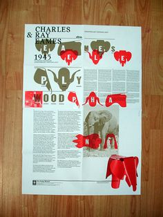 Poster collection - Vitra Eames poster on Flickr - Photo Sharing!