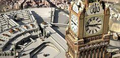 Horloge géante de la Mecque. 5 horloges monumentales à découvrir dans le monde | Lovetime, blog montres et bijoux par Cresus