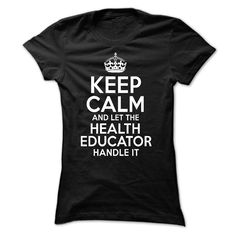 #Funnytshirts... Nice T-shirts  Price :$21.99Purchase Now    Low cost Codes   View pictures & photographs of Cool Tee for Health Educator t-shirts & hoodies:For those who do not completely love our design, you possibly can SEARCH your favourite one through the ...