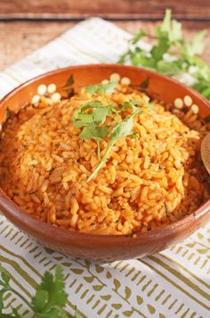10 Minute Mexican Rice | Your family will enjoy this quick and easy side dish. AD MinuteMealsSweeps