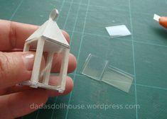 La lanterna – The lantern – Dada's dollhouse Miniature Crafts, Miniature Dolls, Fairy Garden Furniture, Free To Use Images, Bead Jewellery, Miniture Things, Craft Items, Craft Tutorials, Dollhouse Miniatures
