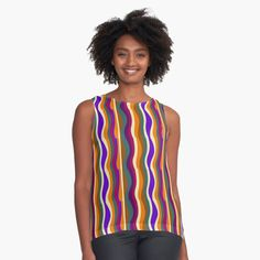 Casual Wear For Men, Green Pattern, Red Purple, Chiffon Tops, Trendy Outfits, Clothes For Women, Group, Printed, Fashion Design