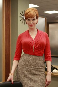 Just finished all available seasons of Mad Men and Joan is still my absolute favorite character!! Her confidence is so admirable! and it doesn't hurt that her wardrobe is impeccable