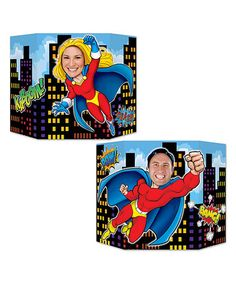 Look at this #zulilyfind! Hero Photo Prop #zulilyfinds