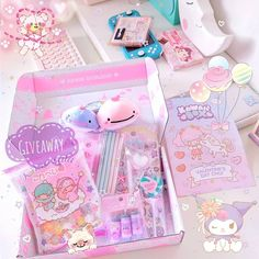😍 This giveaway may have ended but keep your eyes peeled for more soon! 🎀 Get your own monthly subscription box filled with kawaii goodies from Japan! Japanese Subscription Box, Subscription Boxes For Girls, Kawaii Subscription Box, Monthly Subscription, Kawaii Bags, Kawaii Stuff, Kawaii Cute, Cute Things From Japan, Cute Squishies