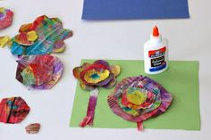 With a few simple supplies, that you may already have on hand, you can create this fun recycled flower craft for kids!