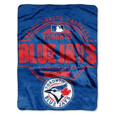 Prove you are the Toronto Blue Jays fan with this x structure micro raschel plush blanket from The Northwest Company! It's made of polyester and features Toronto Blue Jays colors with sublimated graphics and a rib-knit trim. Toronto Blue Jays, Baseball Toronto, Mlb Texas Rangers, Blue Throws, Major League, Chicago Cubs Logo, Plush, Cheer