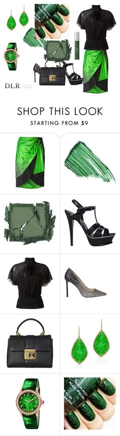 """""""DLRBOUTIQUE.COM"""" by ice87 ❤ liked on Polyvore featuring Maison Margiela, By Terry, Surratt, Yves Saint Laurent, RED Valentino, Jimmy Choo, Sonia Rykiel, Anne Sisteron, Bulgari and RéVive"""