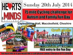 Don't forget to put July 20th in your diary. We are holding our annual fun day at Capesthorne hall. Come along to the hearts and minds stall and ask us anything you like . You can sign up for membership , have a look at some of the other fundraising events on offer, enquire about our ipad scheme . Anything you want. Plus have lots of fun with the kids on our funfair and craft stalls - If you want more details please get in touch with Cheryl on heartsandmindsevents@gmail.com or 07712 394879 Family Fun Day, Craft Stalls, Fundraising Events, Heart And Mind, Cheryl, Good Day, Don't Forget, Ipad, Hearts