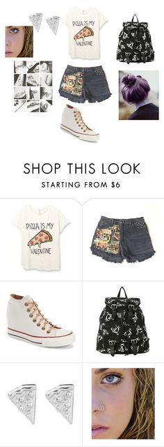 """""""Bad Girl"""" by lexusgq on Polyvore featuring Converse, Rock 'N Rose, women's clothing, women's fashion, women, female, woman, misses and juniors"""