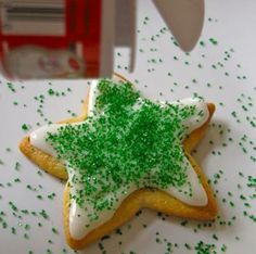 Chirstmas cookie decorating...with icing recipe